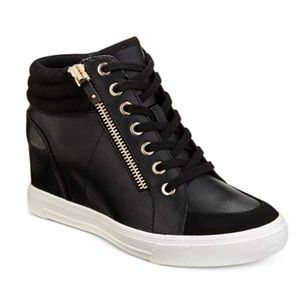 Aldo womens kaia wedge sneakers